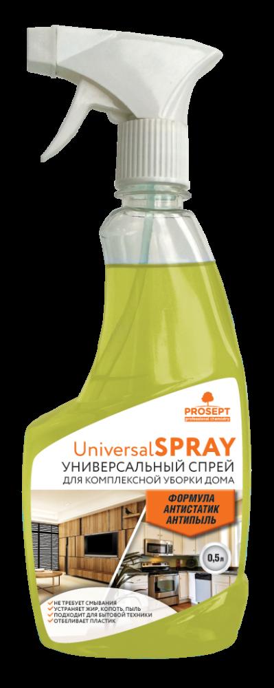 Universal Spray. Универсальный моющий и чистящий спрей