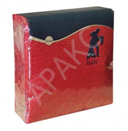 Салфетки Бумажные 24х24 см 1-слойные