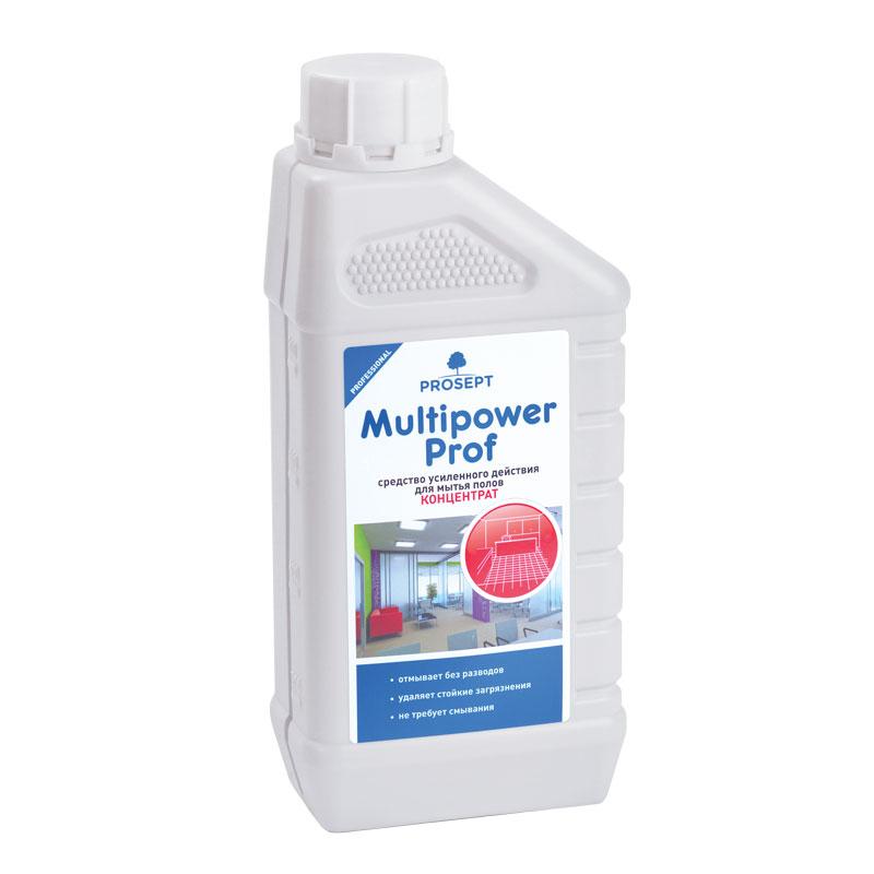 Multipower Prof. Средство усиленного действия для мытья напольных покрытий