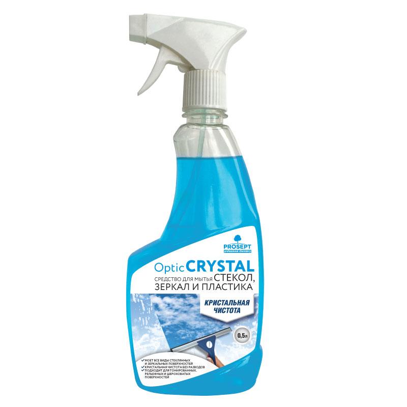 Optic Crystal. Средство для мытья стекол и зеркал