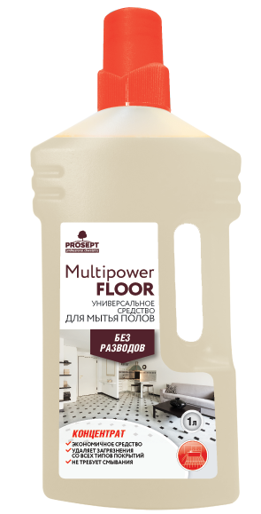 Multipower Floor. Универсальный концентрат для мытья полов