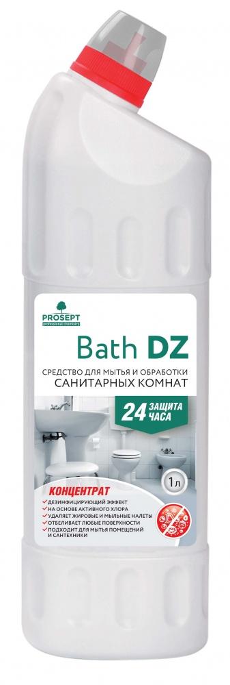 Bath DZ. Гель для мытья и антимикробной обработки сантехники