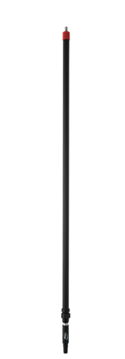 Телескопическая aлюминиевая ручка с подачей воды с защелкой, 1600 — 2780 мм, Ø31 мм