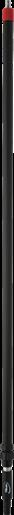 Телескопическая алюминиевая ручка с подачей воды и с бытроразъемным соединением, 1600 — 2780 мм, Ø31 мм