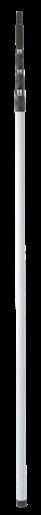 Телескопическая ручка из стекловолокна, 1880 — 6000 мм, Ø34 мм