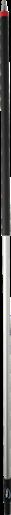 Алюминиевая ручка с подачей воды, Ø31 мм, 1935 мм