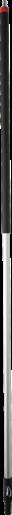 Алюминиевая ручка с подачей воды с быстроразъемным соединением, Ø31 мм, 1920 мм