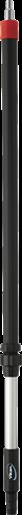 Алюминиевая ручка с подачей воды, 1080 — 1600 мм, Ø32 мм
