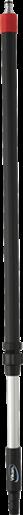 Алюминиевая ручка с подачей воды с защелкой, 1060 — 1600 мм, Ø32 мм