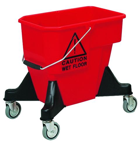 Ведро пластиковое на колесах VDM ALEX 1