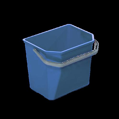 Ведро прямоугольное 12 л, синее