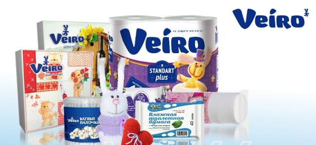 Группа Клининговых Компаний «Чистомир» является официальным представителем компании Veiro, которая входит в группу компаний Сыктывкар Тиссью Групп