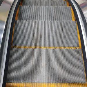 Фото Чистка эскалатора.